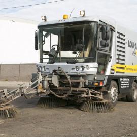 Balais de rues (mécanique ou aspirateur)